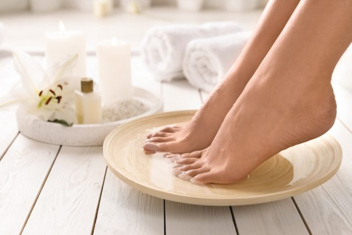Geleration with Pedicure