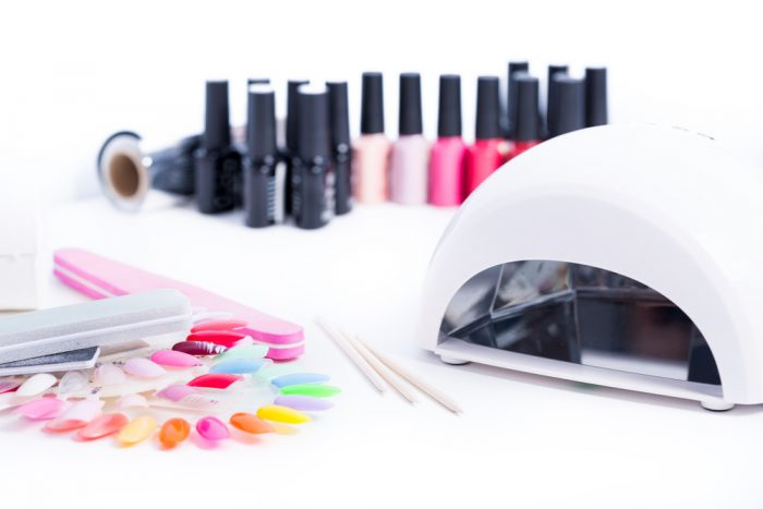Geleration with Manicure